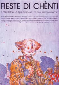Locandina Folkest 1980