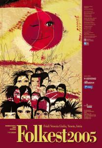 Locandina Folkest 2005