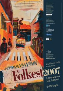 Locandina Folkest 2007
