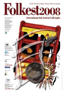 Locandina Folkest 2008