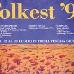 Locandina Folkest 1991