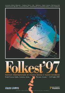 Locandina Folkest 1997