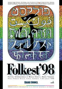 Locandina Folkest 1998
