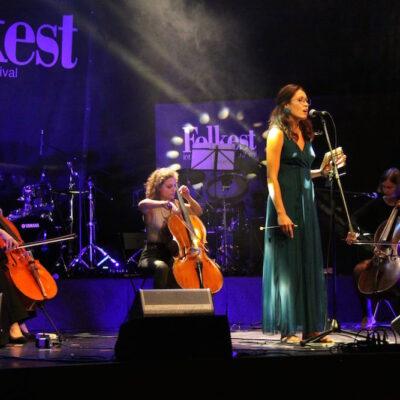 Violoncelli Itineranti ft. Ana Pilat Pinzano al Tagliamento Folkest2021